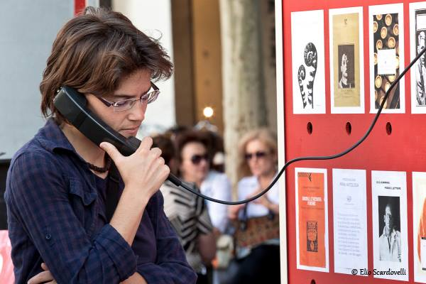 Cabine Telefoniche Letterarie di Teatro Magro