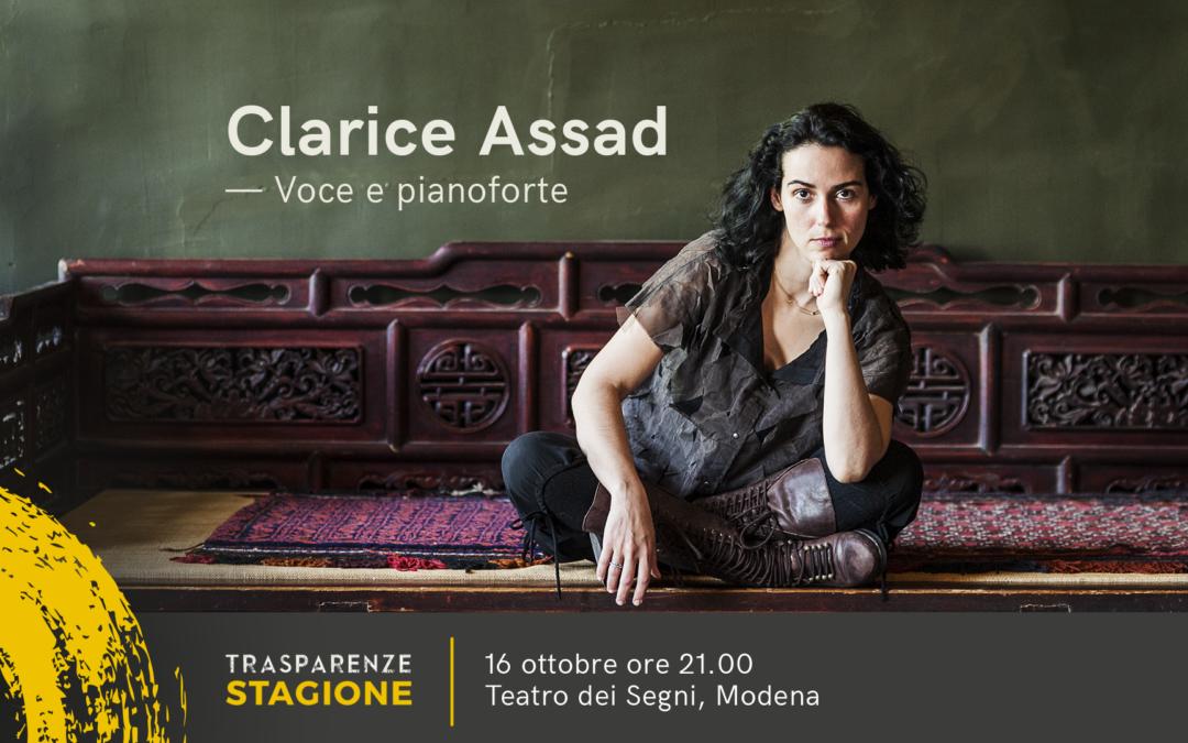 Clarice Assad in concerto apre la Stagione